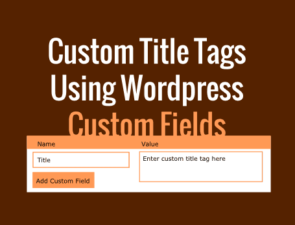 Add custom title tags