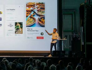 Large screen presentation