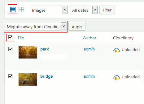 Migrate images from Cloudinary