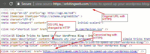 Change og url to http plugin output